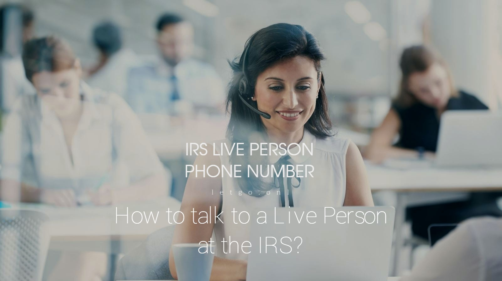 IRS Live Person Phone Number