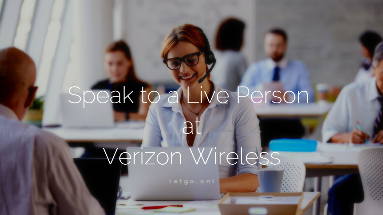 Talk to a Live Person at Verizon