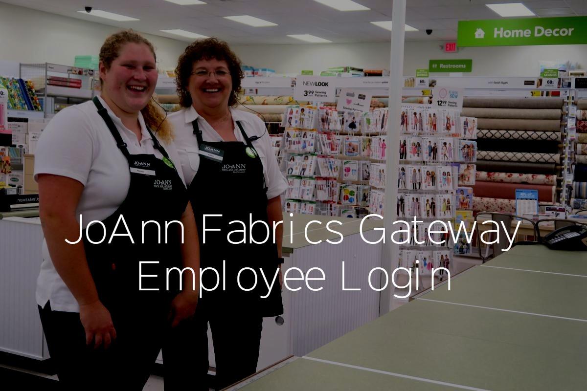 JoAnn Fabrics Employee Login