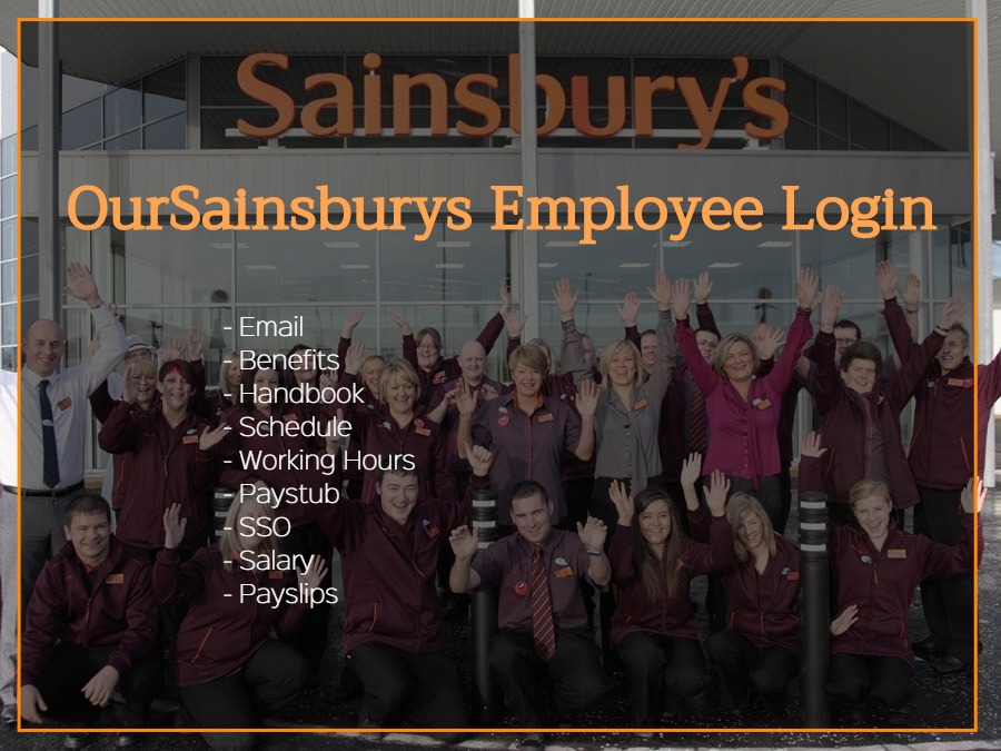 Our Sainsburys employee login