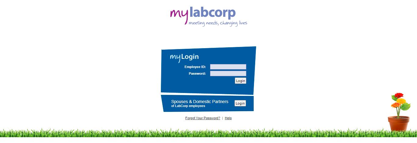 my LabCorp Employee login