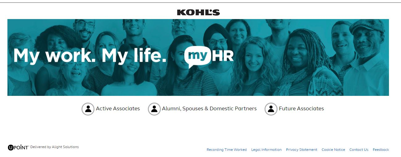 Kohls My HR Login