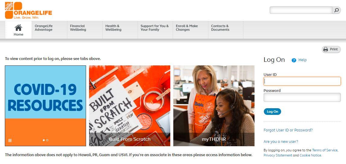 The Home Depot Live The Orange Liife Benefits