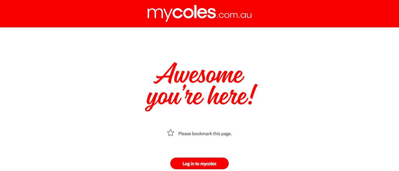 mycoles employee login