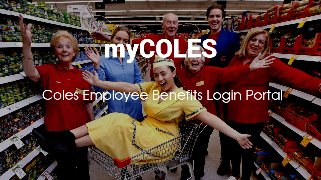 mycoles login