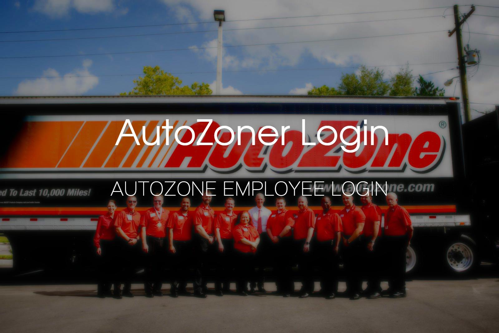 AutoZoner Employee Login