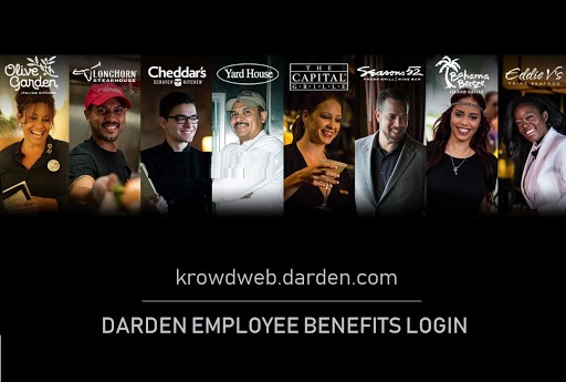 Krowd Darden Employee Login