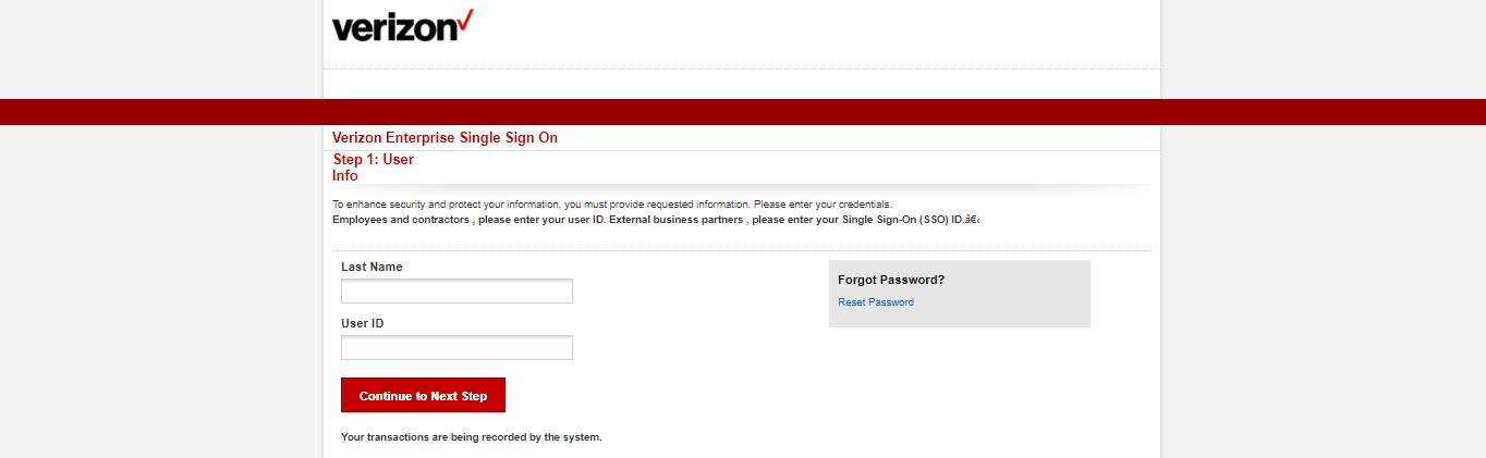Verizon Employee Login